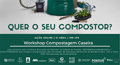 Workshop COMPOSTAGEM CASEIRA com LIPOR